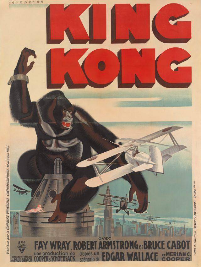 Affiche de « King Kong », adjugée pour 42 000 livres, image ©Sotheby's