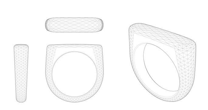2.000-3.000 Facetten wird der Ring haben, der exklusiv für seinen neuen Besitzer angefertigt wird