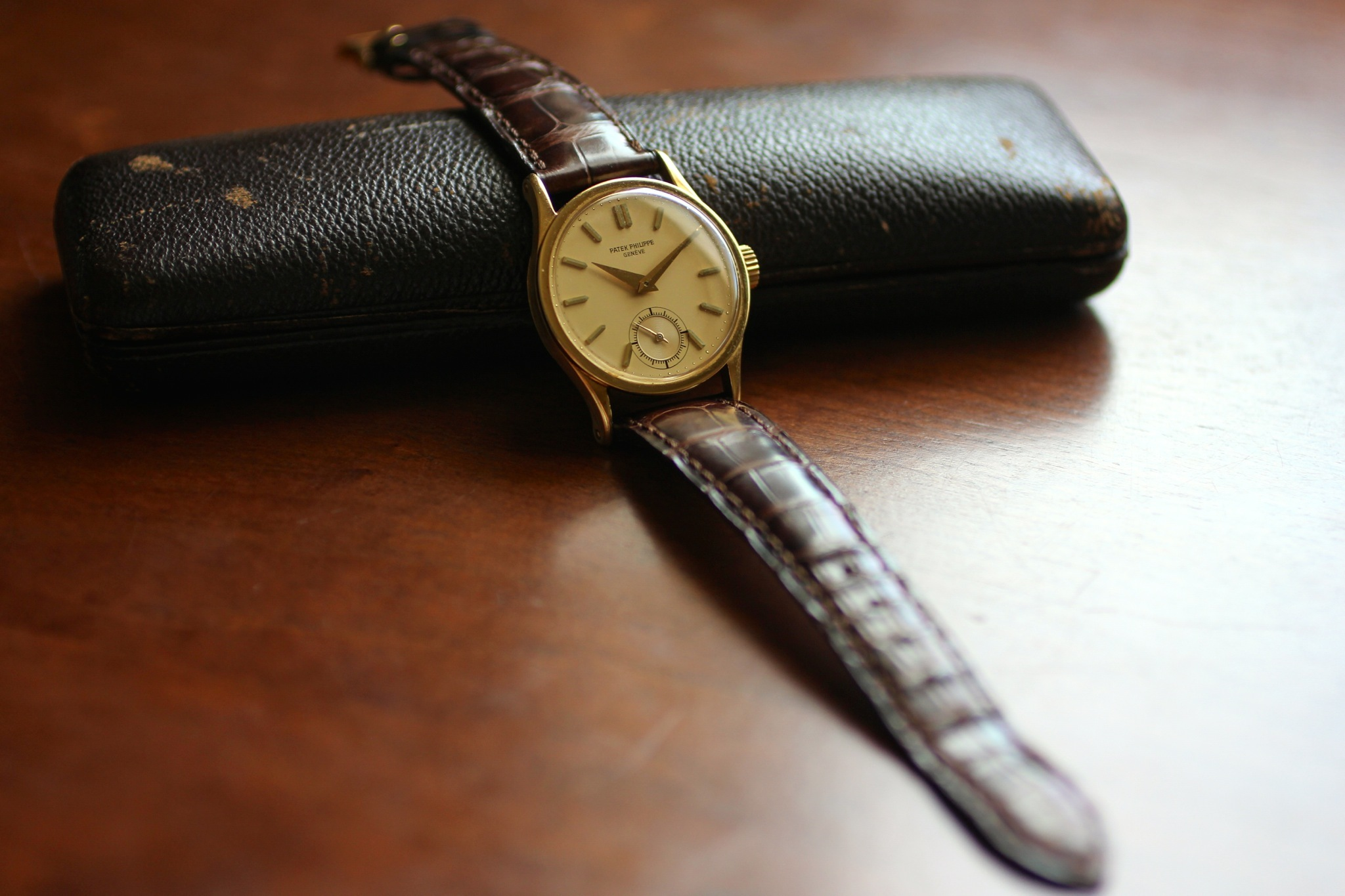 Patek Philippes erste Armbanduhr, die Calatrava Reference #96