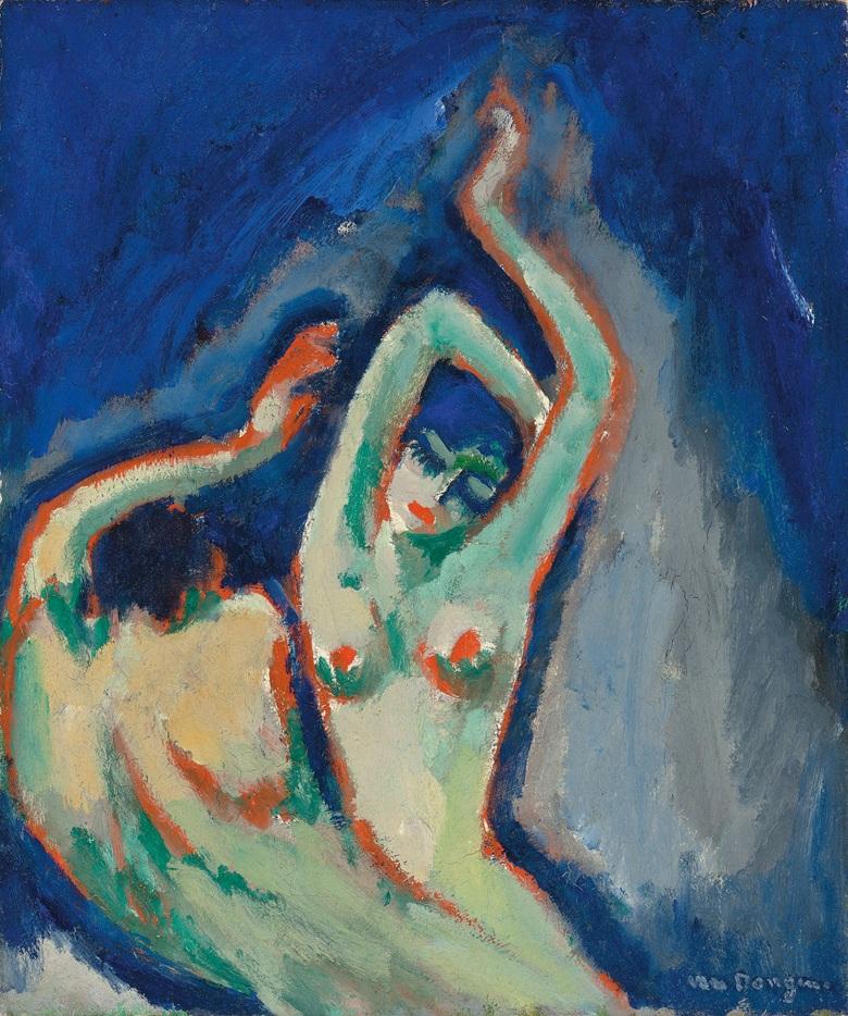 KEES VAN DONGEN - Les deux anges, 1907-09 Abb.: Christie's