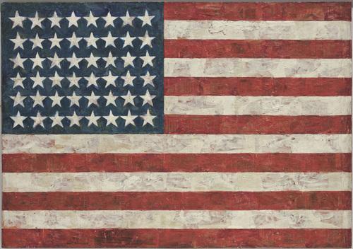 Jasper Johns, Flag (1954-55)