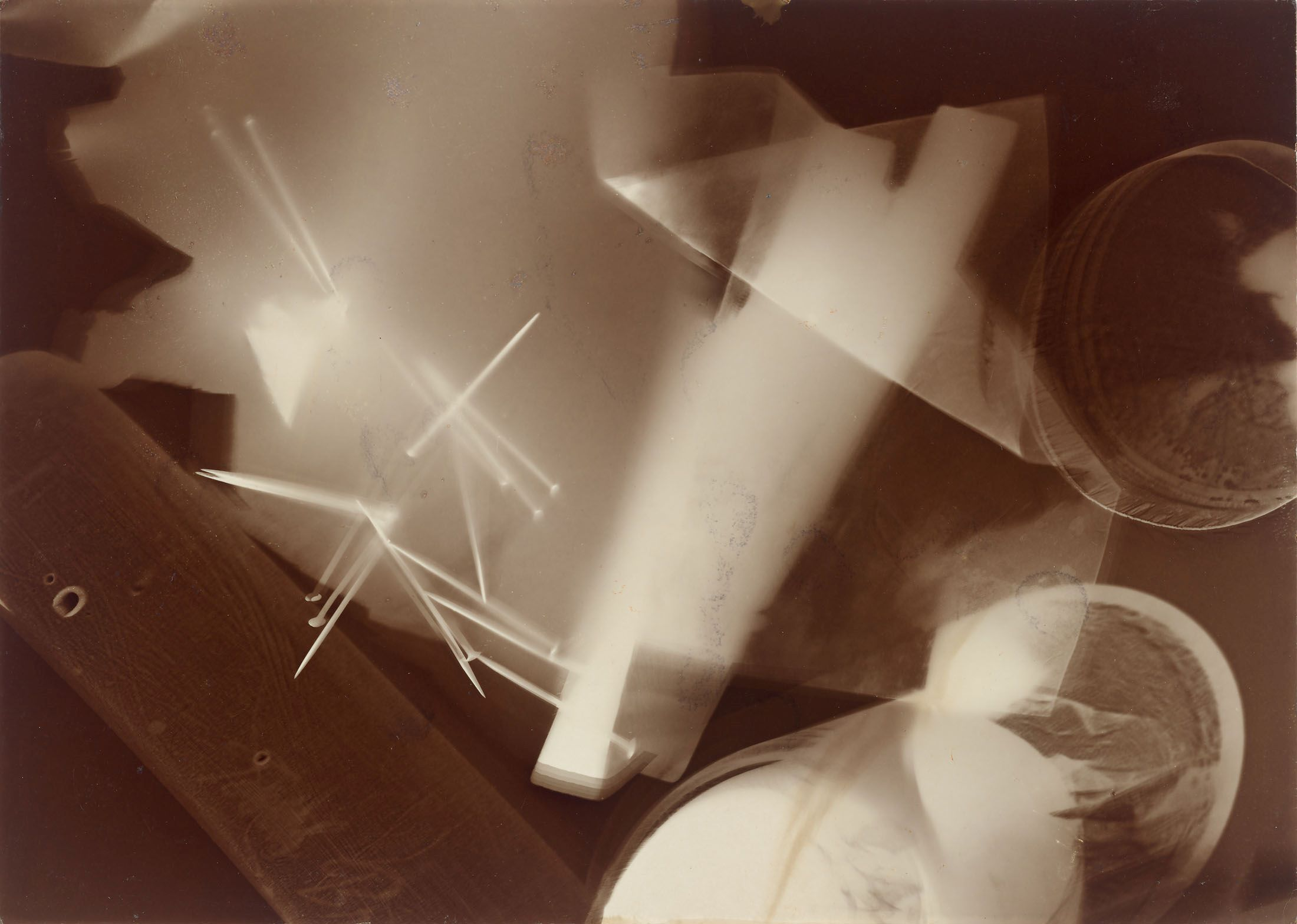 László Moholy-Nagys unikates Photogramm von 1923/25 sorgte für einen weiteren deutschen Rekordpreis | Abb. Grisebach