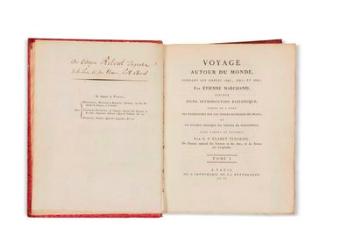 Voyage Autour du Monde, Etienne Marchand. 1790
