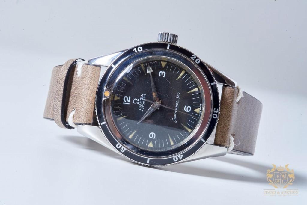 OMEGA - tappning dykarens klocka, stål, 1958