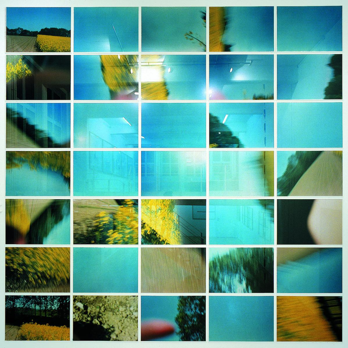 Christoph Rütimann - Chi ha detto che il giallo non è bello (Qui a dit que le jaune n'était pas beau) (1983:90), projet installation in situ, 2018 - Galerie Mai 36