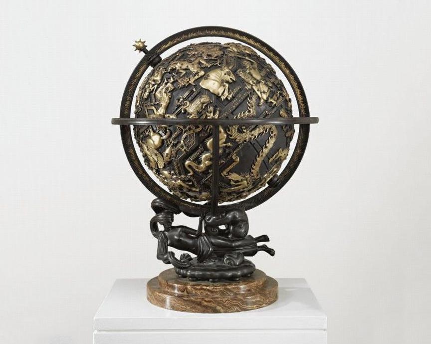 Paul Howard Manship, sphère céleste, 1934, via Pinterest