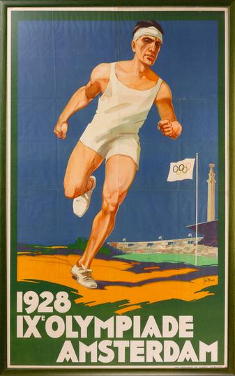 Affiche des JO de 1928 MPO Auctions Estimation basse: 5 000 €