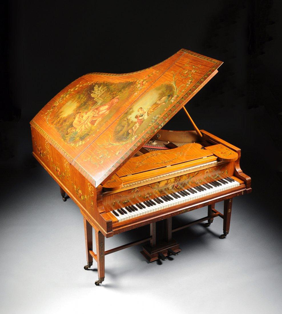 Handmålat piano. Utrop: 204 000 SEK. Tyskland. Simpson Galleries