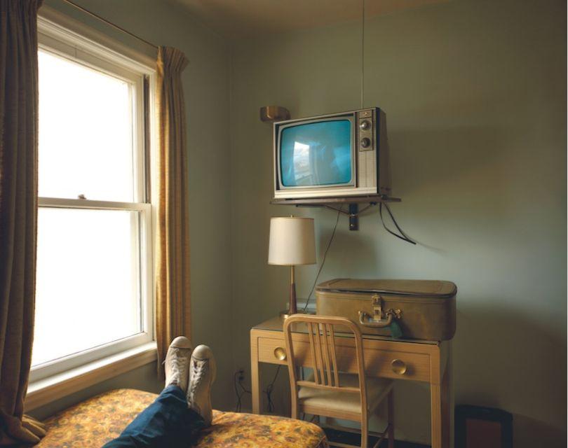 Chambre 125, Westbank Motel, Idaho Falls, Idaho, 18 juillet July 1973, série Uncommon Places. Avec l'aimable autorisation de l'artiste et de la 303 Gallery à New York © Rencontre Arles