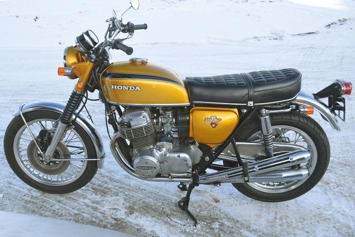 HONDA. CB 750 Four K1 (1972). Precio estimado: 9.000-12.000 €