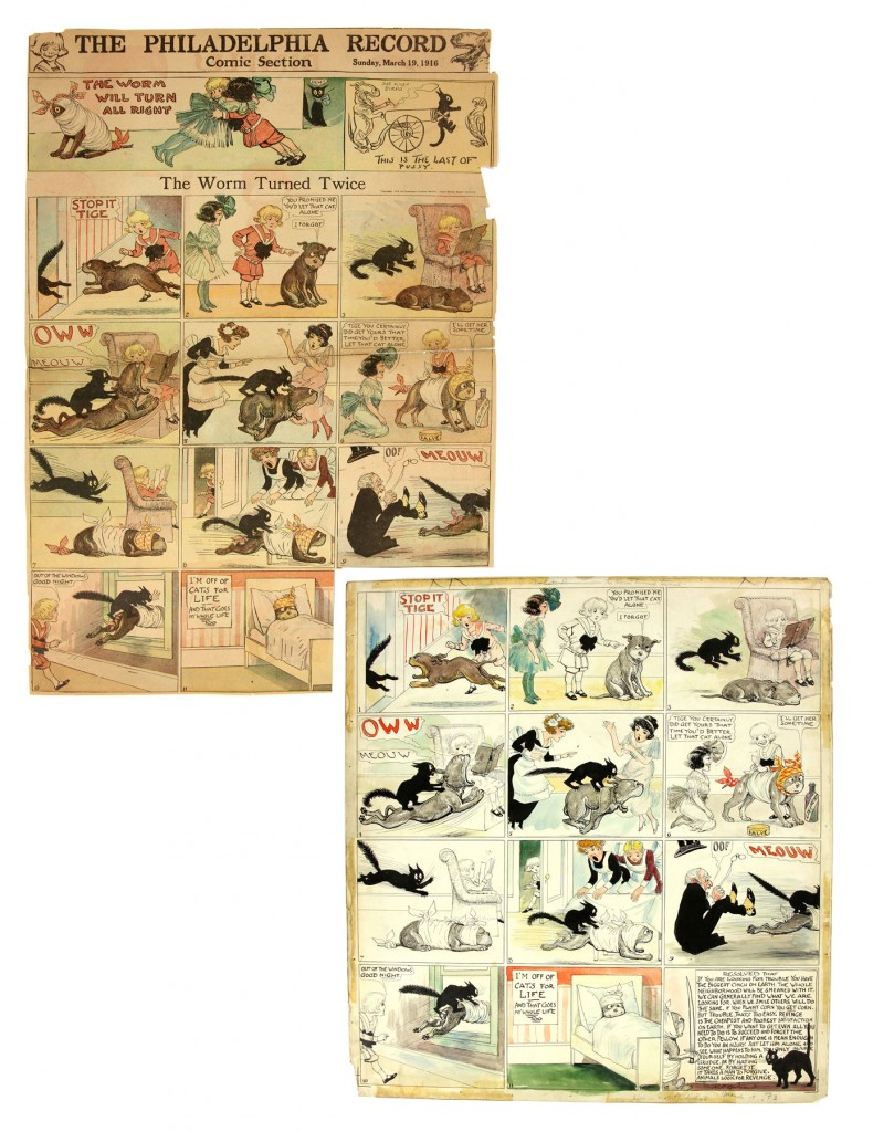 Buster Brown comic strips