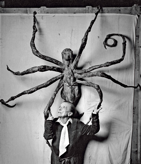 """Louise Bourgeois in 1966, """"Spider V"""""""