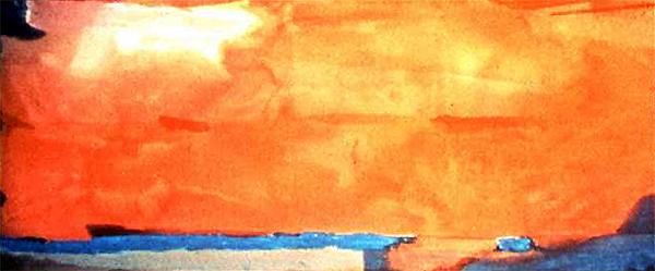 Helen Frankenthaler, Royal Fireworks (1975)