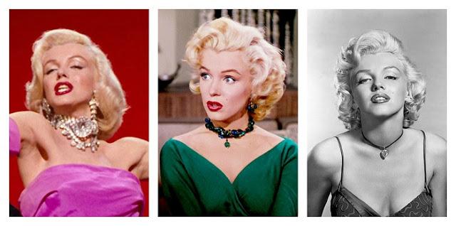 Marilyn Monroe in Gentleman Prefer Blondes, Diamonds Are A Girl's Best Friend and Moon Of Baroda