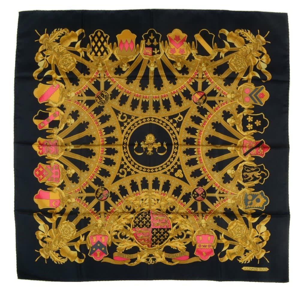 Hermès, 'British Heradary'. Photo: Dreweatts