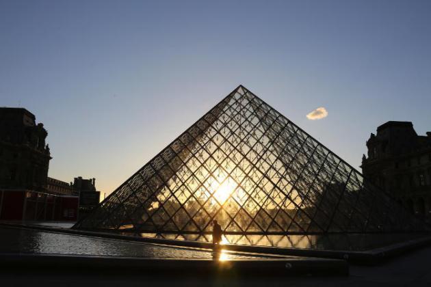 Le Louvre, Paris Image AFP