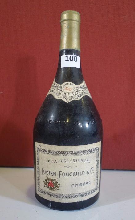 Rare cognac Lucien-Foucauld en parfait état Estimation basse: 5 000 euros
