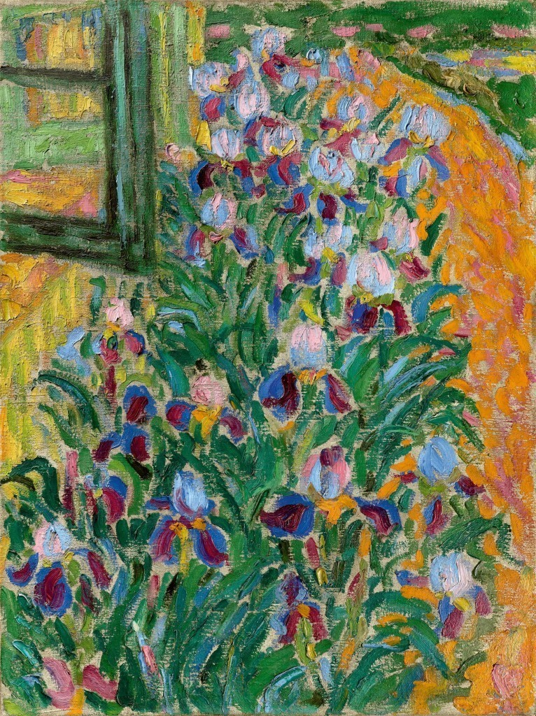 Erich Heckel, « Iris bleues », 1908, image ©Grisebach