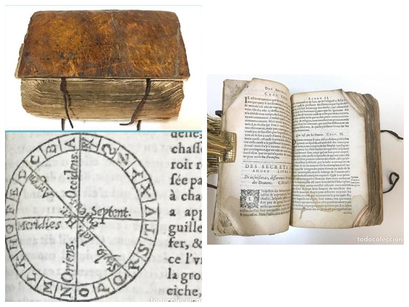 """Libro """"Los secretos"""". Francia (c. 1650)"""