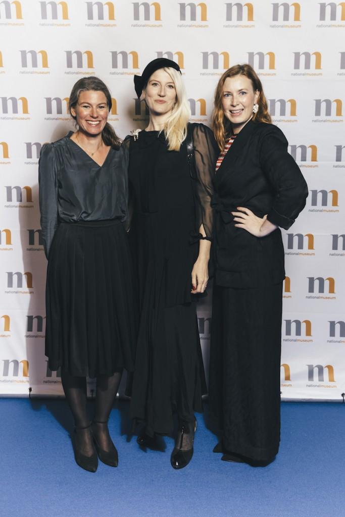 Emma Olbers,deisgner tillsammans med Sofia Lagerkvist och Anna Lindgren från Front Design