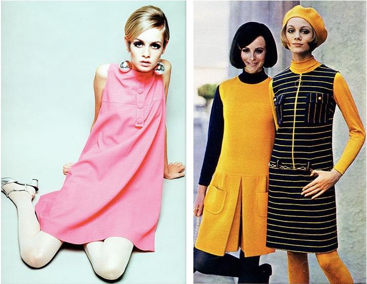 Links: Sixties Modeikone Twiggy Fotos: Pinterest