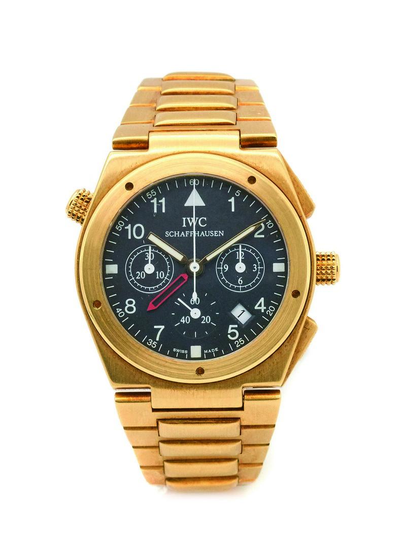 Reloj IWC Schaffhausen de pulsera para caballero en oro