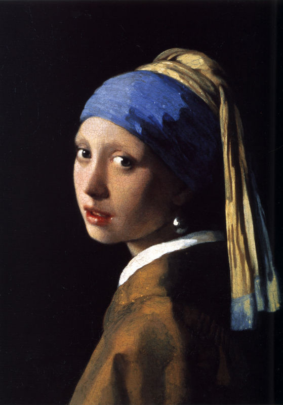 Johannes Vermeer, Girl with a Pearl Earring, 1665 Image: Mauritshuis Royal Picture Gallery