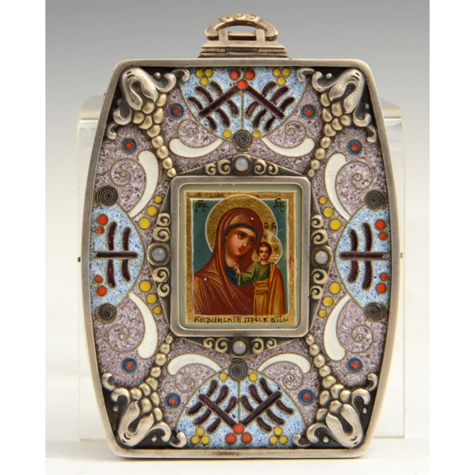 Russian icon, Virgin of Kazan