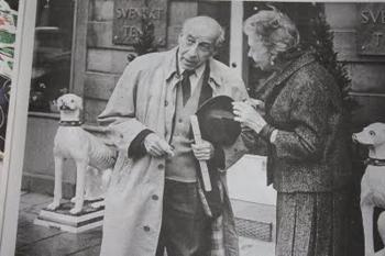 Josef Frank och Estrid Ericson.