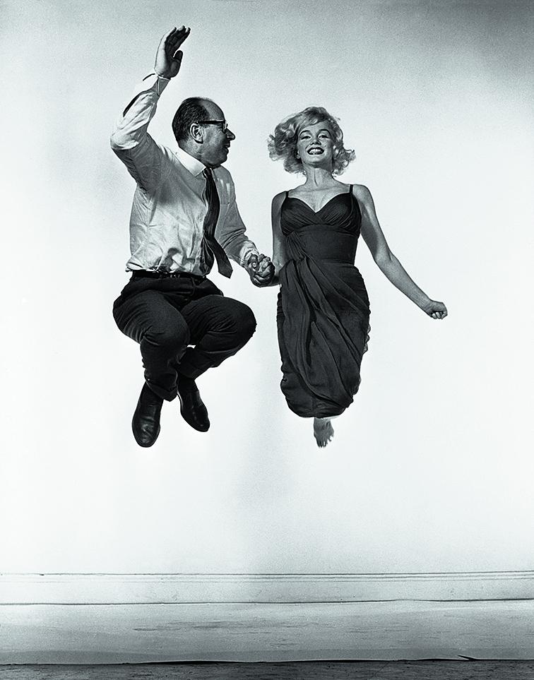 Yvonne Halsman. Marilyn Monroe y Philippe Halsman (1954). © 2016 Philippe Halsman Archive / Magnum Photos