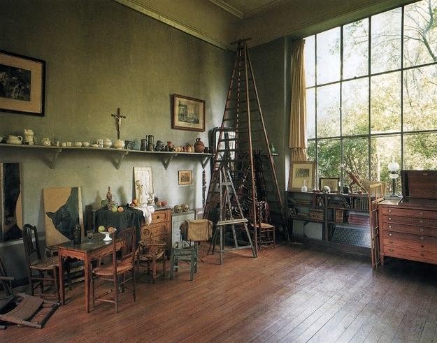 Paul Cezannes studio i Lauves.