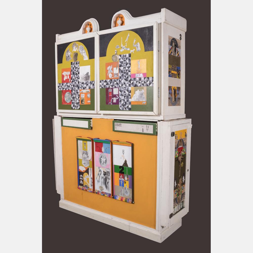 Lot 150 - Hazel Janicki Schock (1918-1976) - The Drapery Box