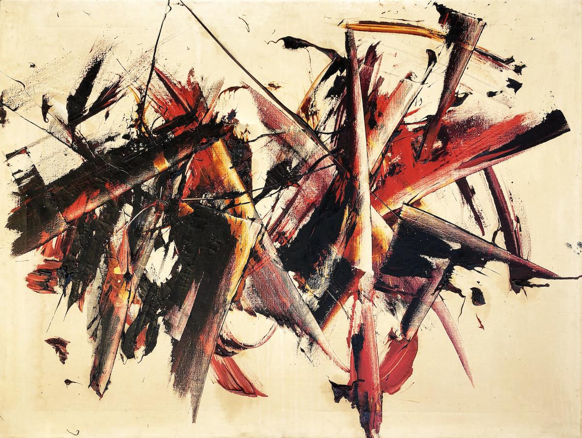 Judit Reigl, Éclatement, 1956, ©Kálmán Makláry Fine Arts