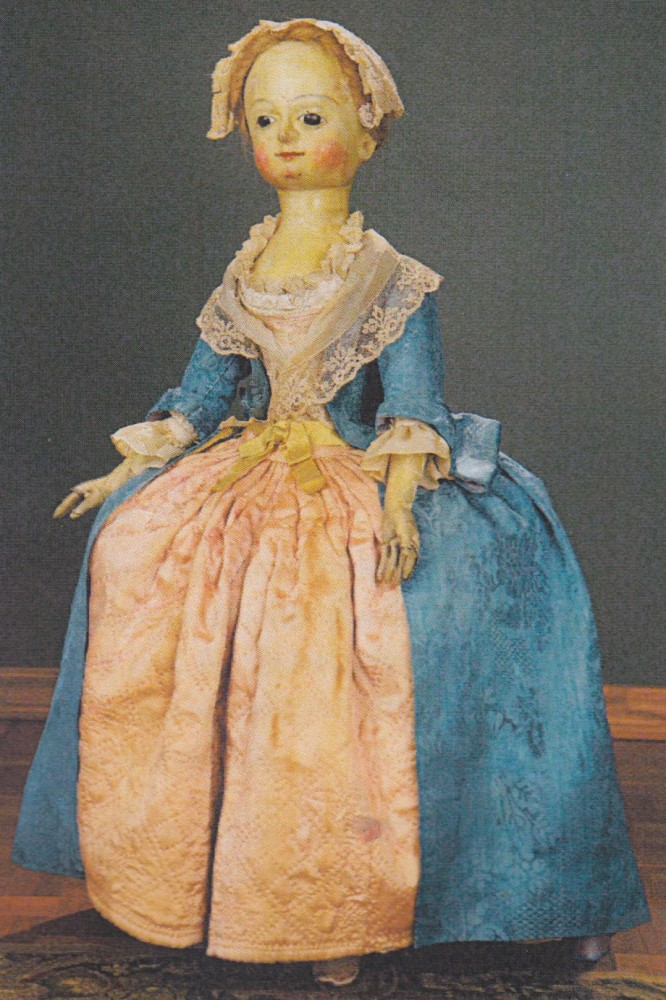 English wooden doll