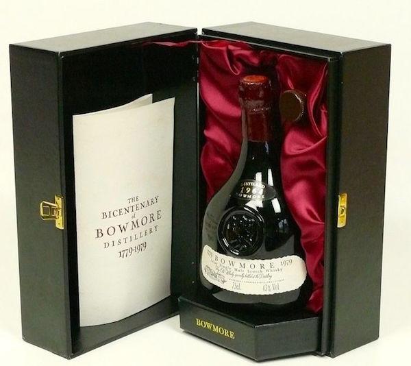Whisky, Bicentenary of Bowmore, 1964. Utropspris: 15 000 - 20 000 kronor.