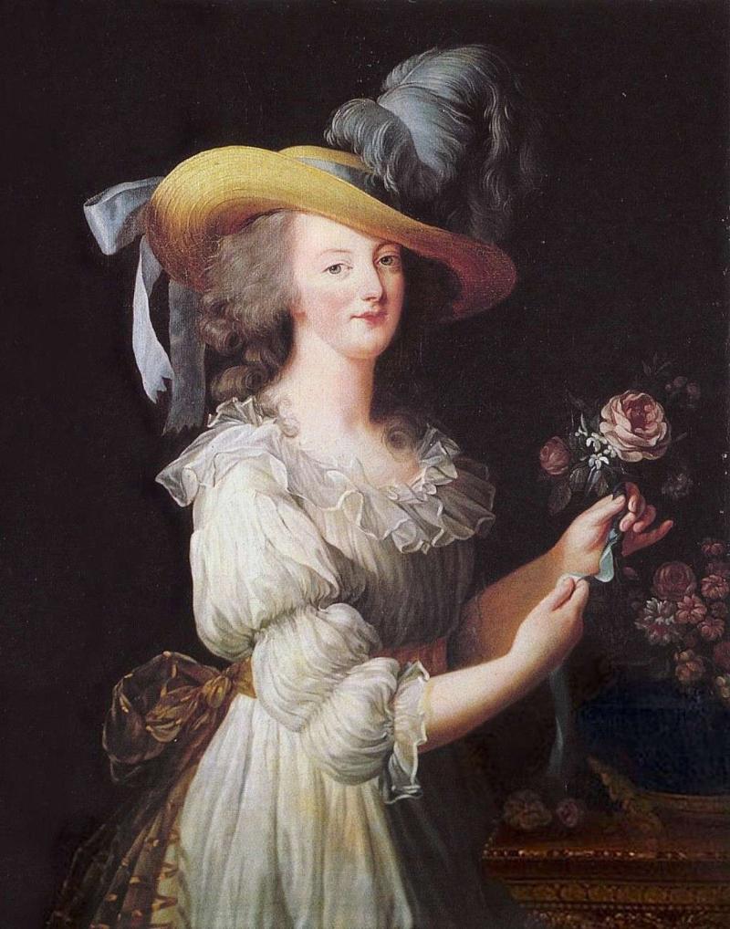 """Elisabeth Louise Vigée Le Brun, """"Marie Antoinette en Gaulle"""" (1783)"""