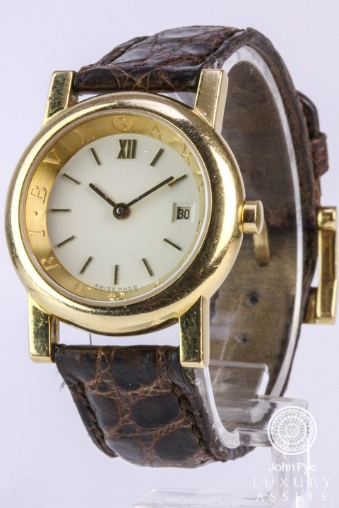 Bulgari Ladies Quartz Watch. Photo: John Pye Auctions