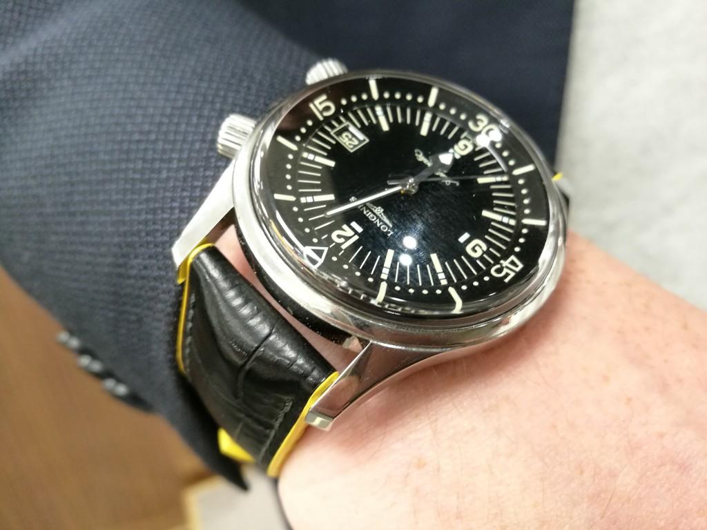 Todays Wristshot: Longines Legend Diver!