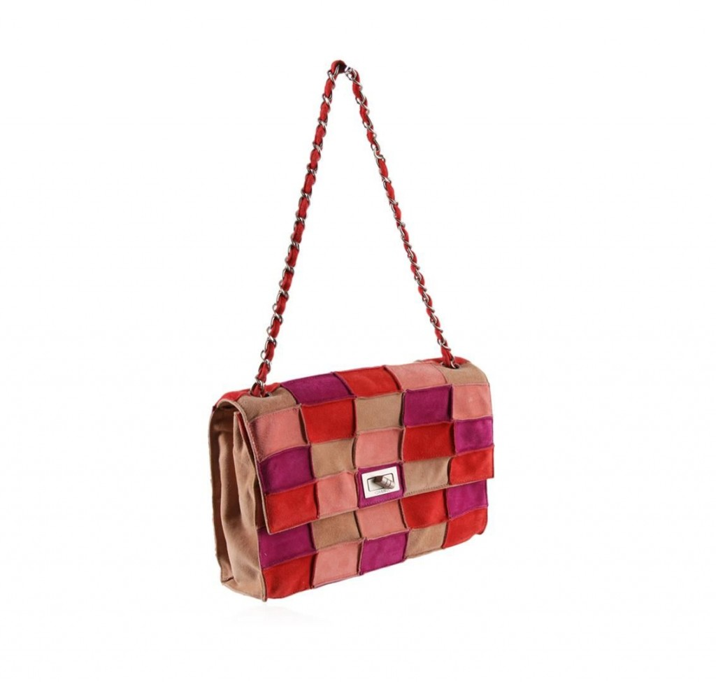 Chanel Multi-color Leather Bag with FlapAuction begins January 20