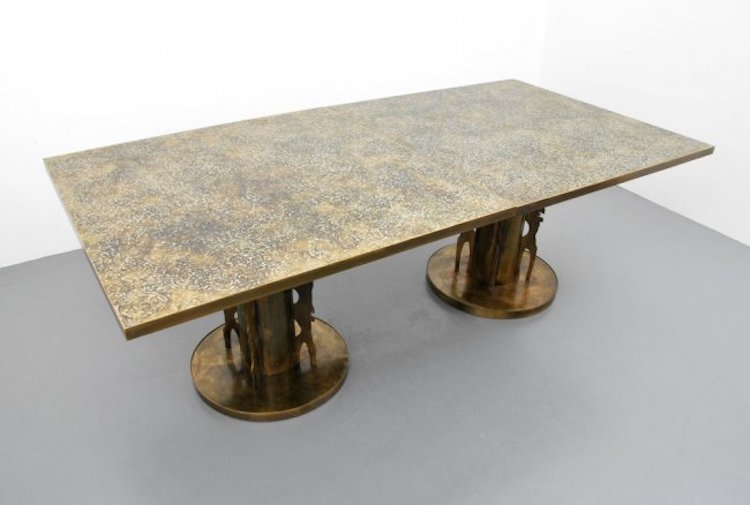 Rare Philip & Kelvin Laverne Dining Table(s). Estimate $30,000 – $40,000