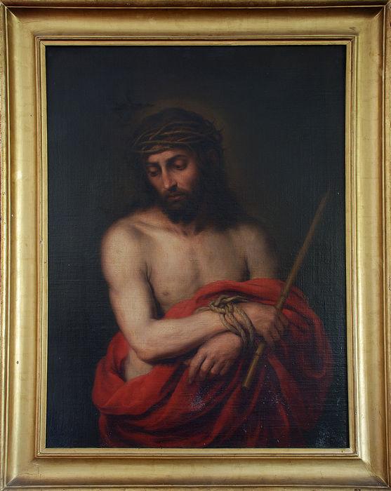 BARTOLOMÉ ESTEBAN MURILLO (1618 Sevilla 1682) - Ecce Homo, Öl/Lwd., um 1665/70