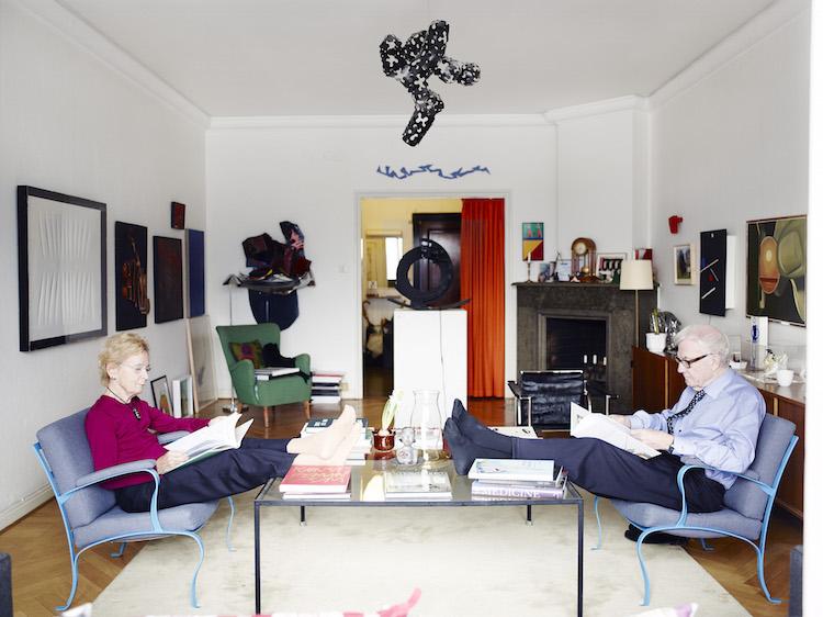 Anna-Stina Malmborg och Gunnar Höglund