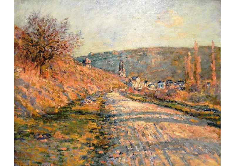 Claude Monet, Vétheuil Road, 1879