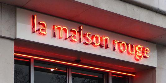 L'entrée de la fondation La Maison Rouge, à Paris 12e Image: DR