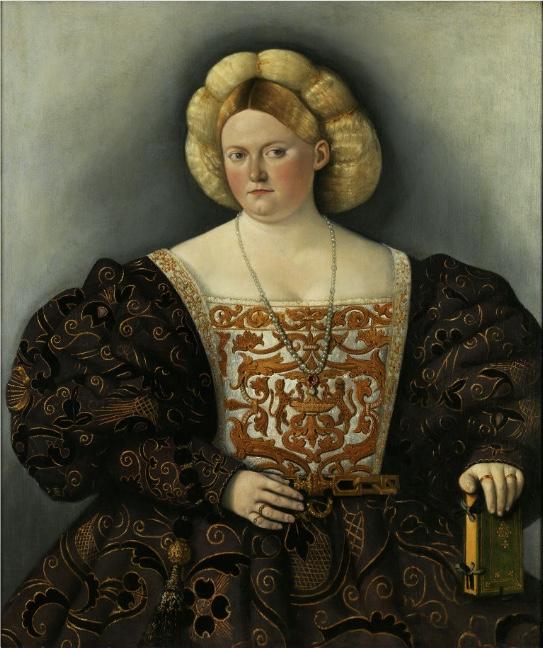 BERNARDINO LICINIO (um 1489 Venedig - 1565) zug. - Dame mit Buch, Öl/Lwd., 107 x 90 cm Schätzpreis: 80.000-120.000 EUR