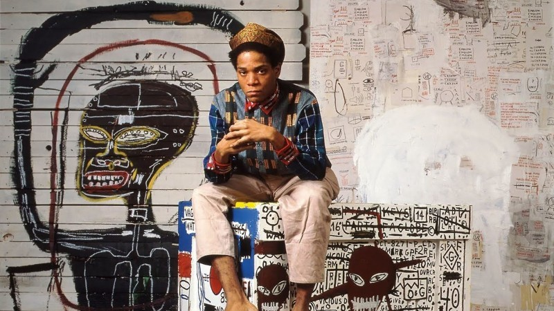 Basquiat. Photo via Causa Operária.
