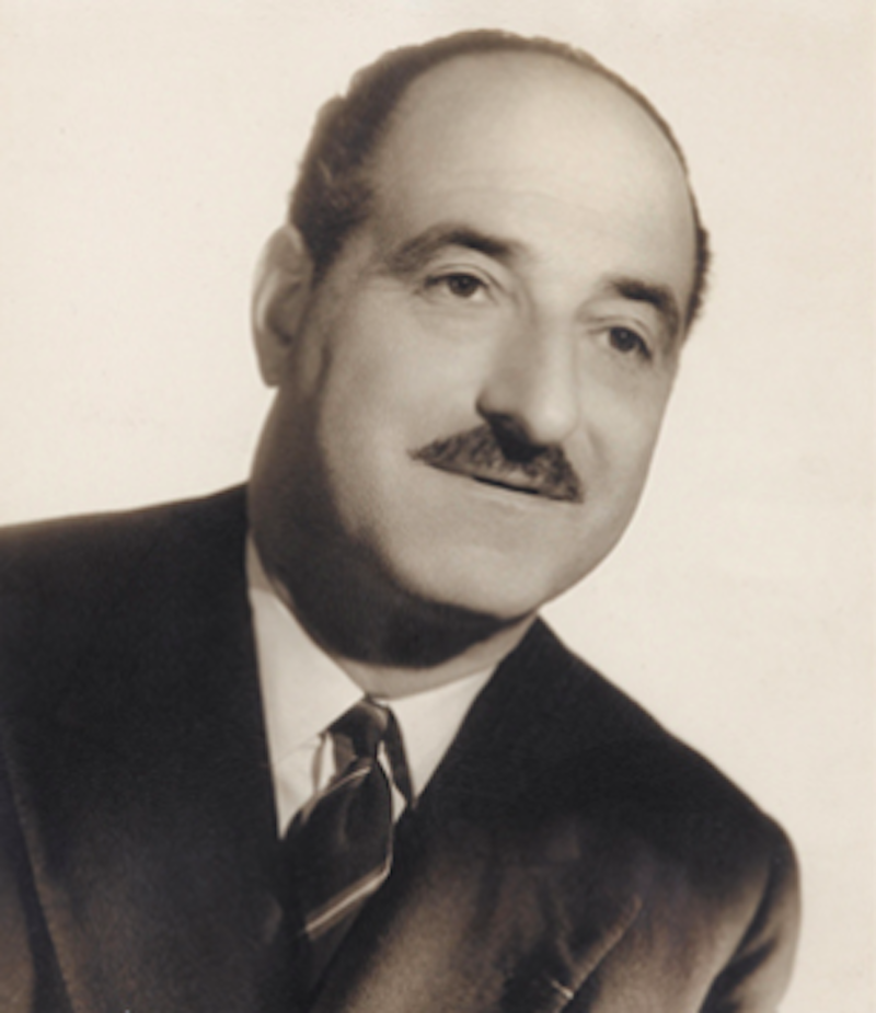 Porträtt av Jacques Bacri av Studio Harcourt.