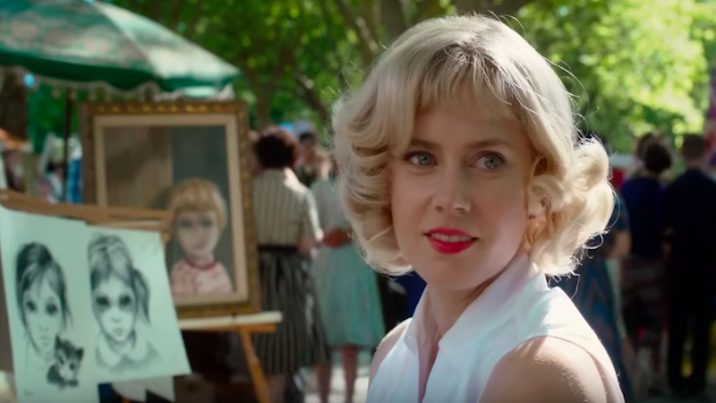 Big Eyes, screenshot dal trailer ufficiale.