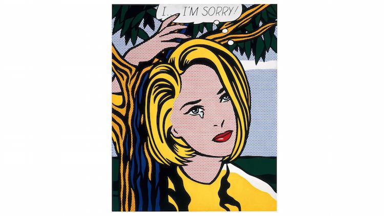 I...I'm Sorry(1965-1966) av Roy Liechtenstein. Foto: latimes.com