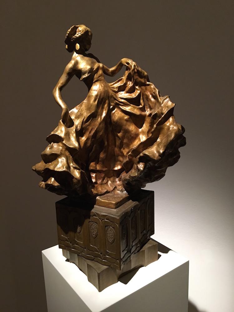 En av Carl Milles mest eftersökta skulpturer är den vackra